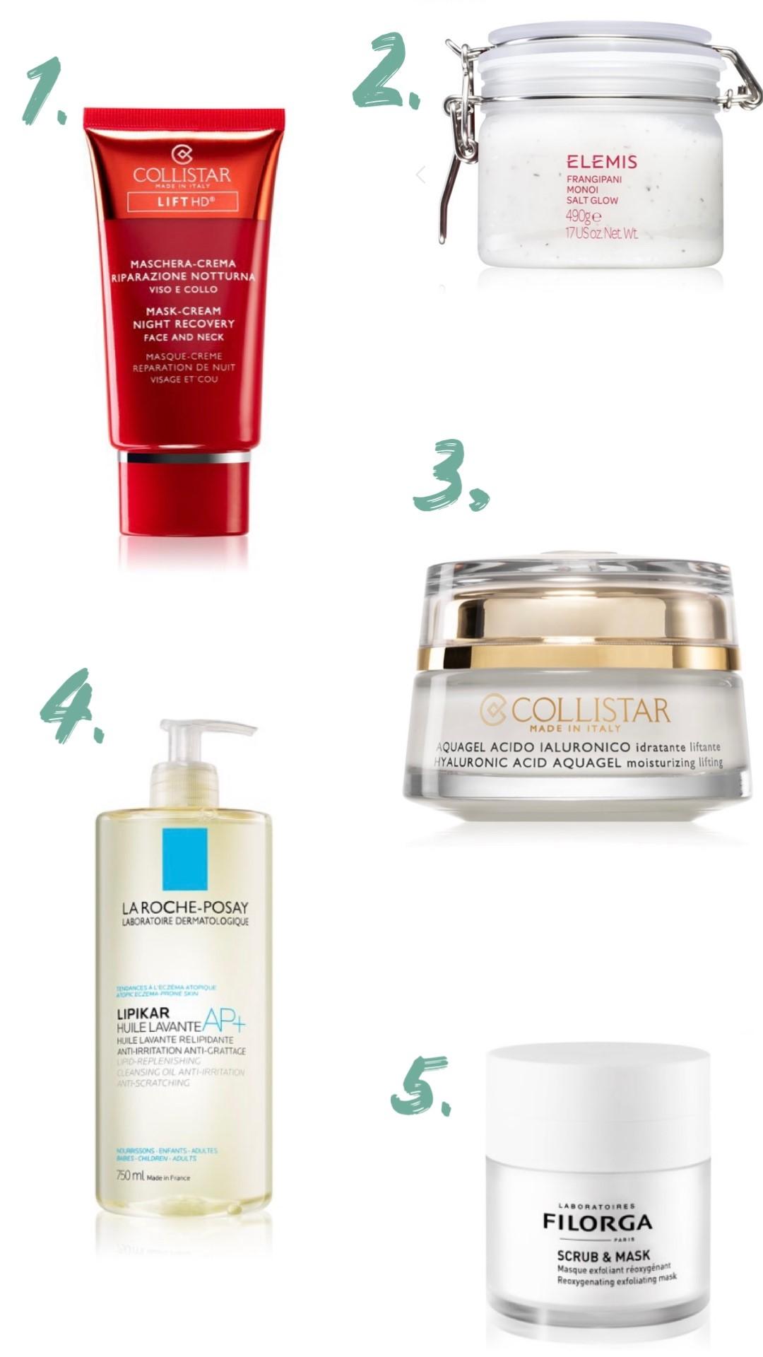 prodotti per curare la pelle dopo l'estate
